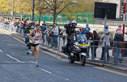 Jungfrulig London maraton 2012 - Merrien Arkivbilder