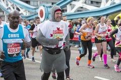 Jungfrulig pengarLondon maraton 24th April 2016 Royaltyfria Foton