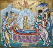 Jungfruliga Mary garneringmosaik Royaltyfri Fotografi