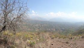 Jungfruligt landskap för berg Fotografering för Bildbyråer