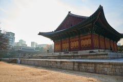 Junghwajeon, Haupthalle von Deoksugung Stockfotos