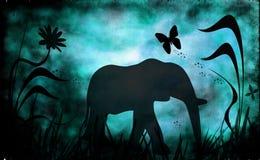Jungle illustration libre de droits