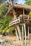 Jungle accommodation Stock Images