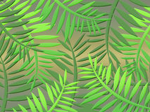 Jungle background (01) Stock Photo
