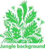 Jungle background Royalty Free Stock Photo