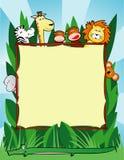 Jungle background Stock Photo