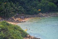 Jungle Beach Unawatuna Stock Image