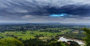 blue sky landscape tropical stock photo