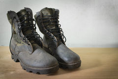 Jungle boot Stock Photography