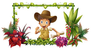 The jungle boy Royalty Free Stock Image