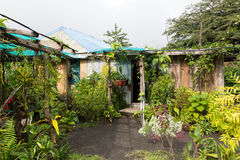 Jungle Bungalow. In the Tropics, Vanuatu Royalty Free Stock Photography