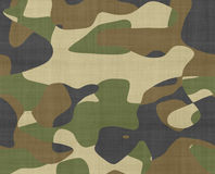 Jungle camouflage fabric Stock Image