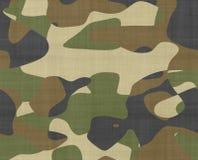 Jungle camouflage fabric stock illustration