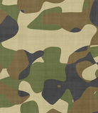 Jungle camouflage fabric Royalty Free Stock Photo
