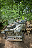 Jungle car crash Royalty Free Stock Photography