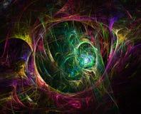 Jungle de fractale Image stock