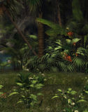 Jungle dreamland Stock Image