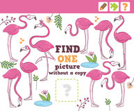 Jungle. Education Counting Game for Children. Stock Photography