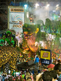 Jungle Float, Rio Carnival. Stock Photos
