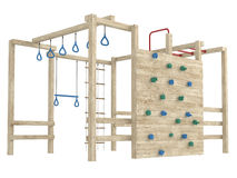 Jungle gym or climbing frame Stock Photography