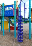 Jungle Gym. An outdoor children's jungle gym Royalty Free Stock Photos