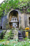 Jungle holy cave temple in  Bali Stock Photo