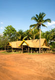 Jungle hut. Rural wooden hut in thai jungle Royalty Free Stock Photography