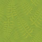 Jungle leaf seamless green pattern Royalty Free Stock Images