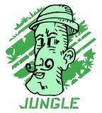 Jungle man Royalty Free Stock Photos