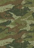 Jungle and mud camouflage pattern. Vector illustration of a distressed print camouflage in repeat pattern Royalty Free Stock Photography