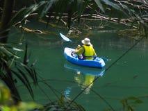 Jungle Paddle Royalty Free Stock Photography