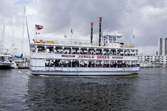 Jungle Queen Charter Sightseeing Boat Stock Images