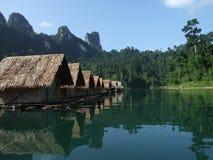 The Jungle Raft Stock Photo