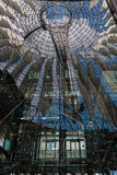 Jungle refections in Berlin. Refection image in postdamer platz Berlin Germany Royalty Free Stock Photography