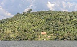 Jungle retreat hut Royalty Free Stock Image