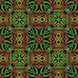 Jungle Seamless Pattern Stock Image