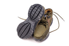 Jungle shoes Royalty Free Stock Images