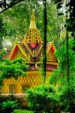 Jungle temple stock photos