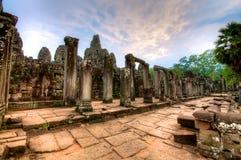 Jungle Temple - Aangkor wat Stock Photos