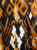 Jungle textile Royalty Free Stock Images