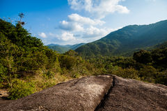 Jungle trekking on Koh Phangan Royalty Free Stock Photo