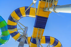 Jungle Water Slide Royalty Free Stock Photo