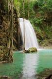 Jungle Waterfall. Waterfall in Erawan National Park, Kanchanaburi province, Thailand Royalty Free Stock Photography