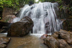 Jungle Waterfall II Royalty Free Stock Photo