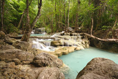 Jungle Waterfalls Royalty Free Stock Photo