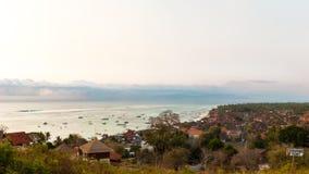 Jungutbatu, Lembongan,印度尼西亚 免版税库存图片
