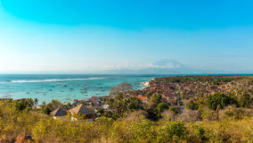 Jungutbatu, Lembongan, Indonesië Stock Foto