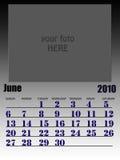 Juni 2010 Royalty-vrije Stock Fotografie