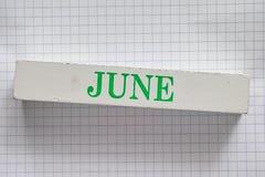 juni Royalty-vrije Stock Foto's