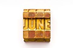 Juni Stock Afbeelding